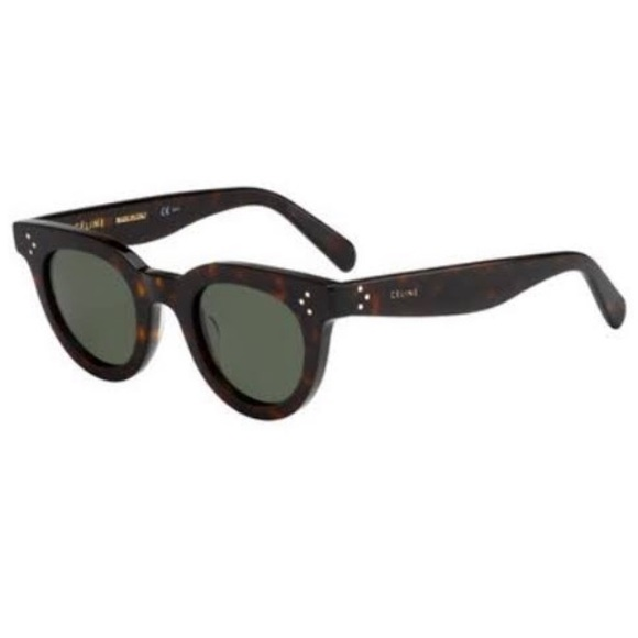 348ff7be11c Celine Accessories - CELINE Tortoise Shell Sunglasses with case